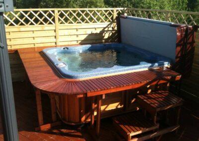 arctic spas Paul's hot tub in Norway